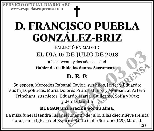 Francisco Puebla González-Briz